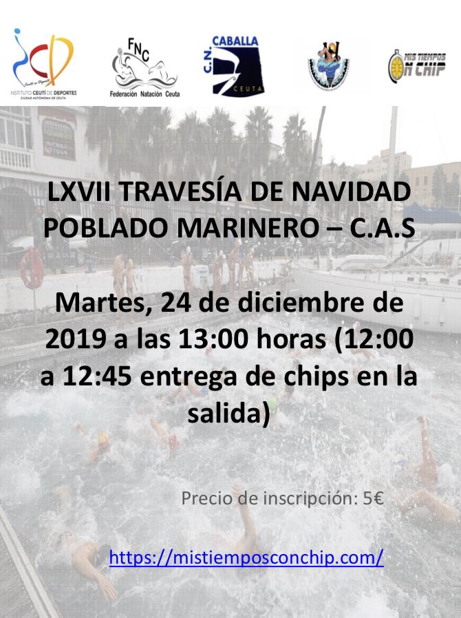 LXVII TRAVESIA DE NAVIDAD