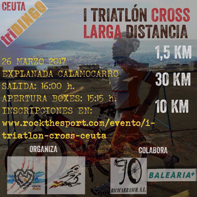 I Triatlón Cross Larga Distancia de Ceuta