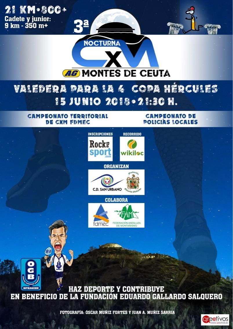 III CARRERA X MONTAÑA AG MONTES DE CEUTA- COPA HERCULES