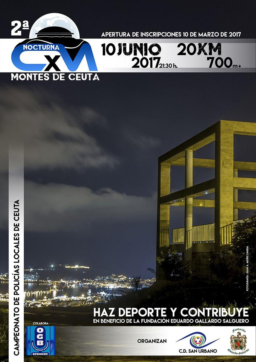 2ª Carrera Nocturna Montes de Ceuta