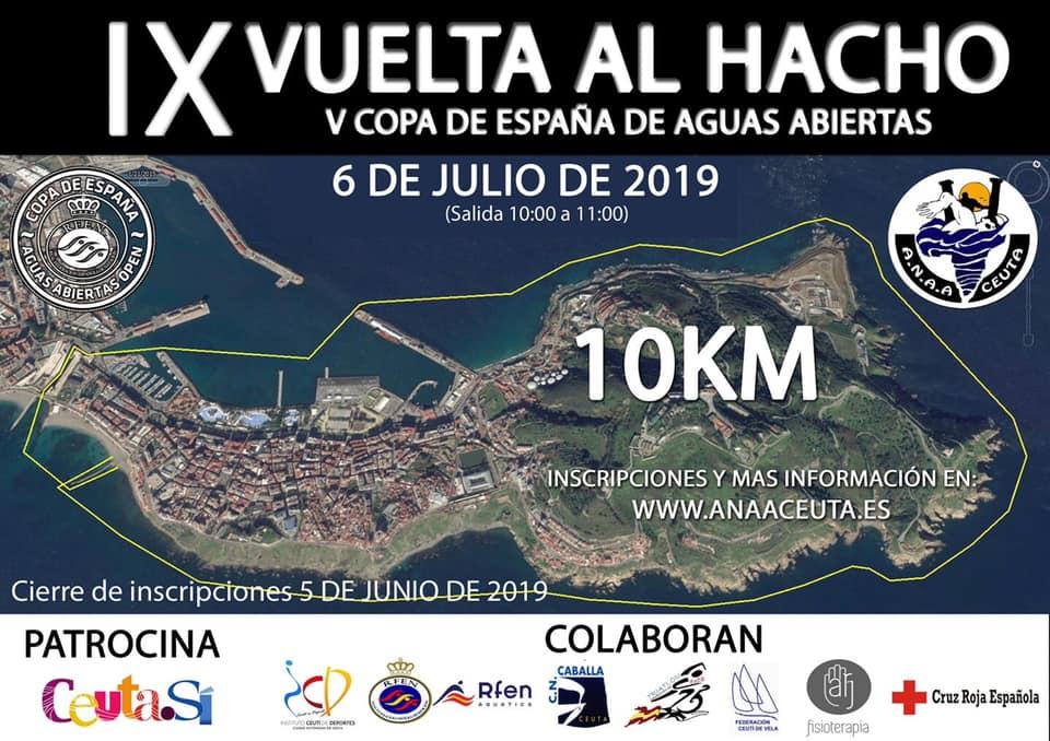 IX VUELTA AL HACHO (V COPA DE ESPAÑA DE AGUAS ABIERTAS)